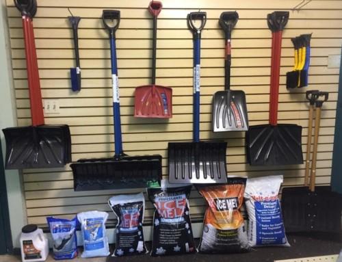 Shovels and Ice Melt