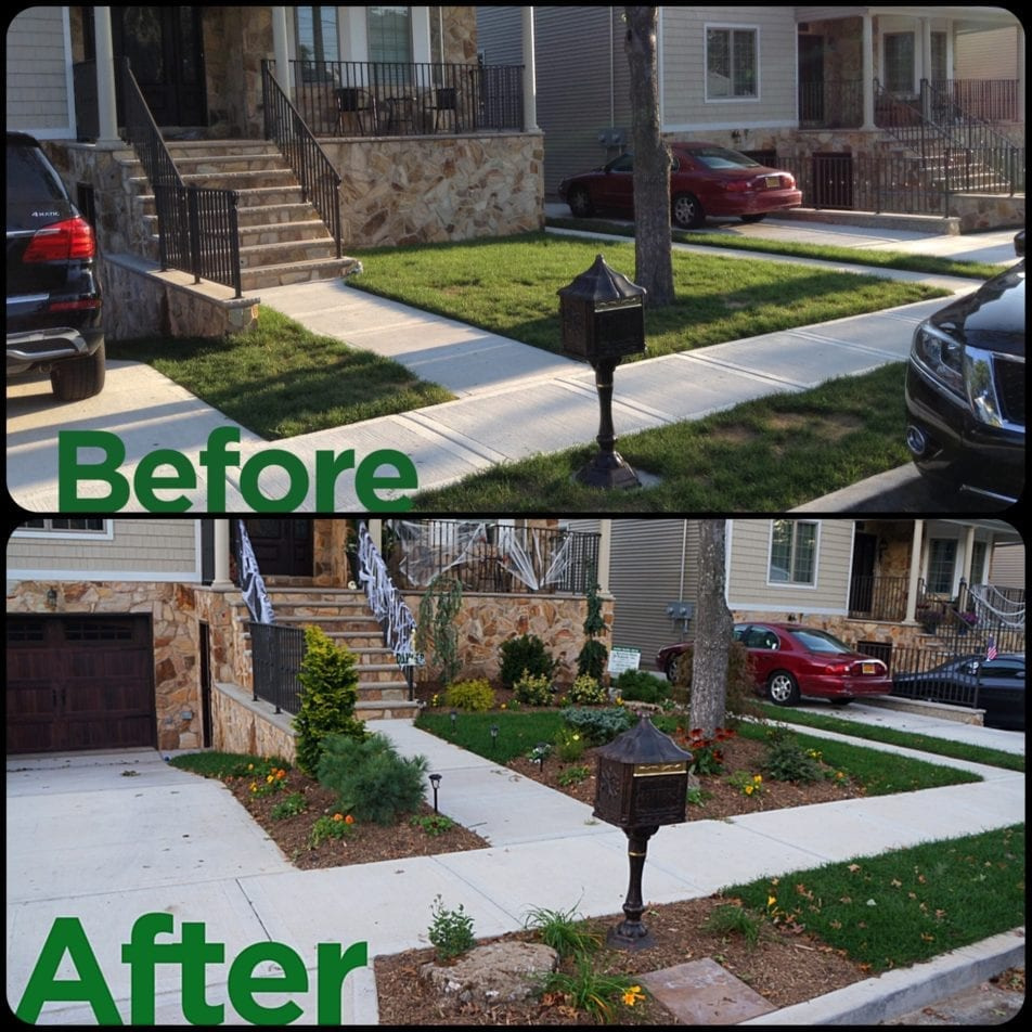 Front Yard Landscape Design Wiesner Bros Nursery Inc