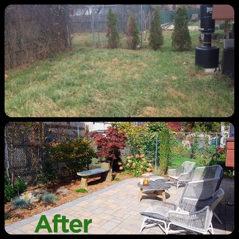 Back yard redesign wiesner bros nursery inc for Redesign your garden