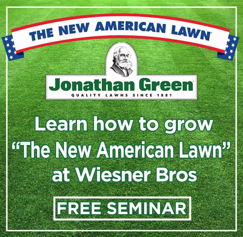 The New American Lawn Seminar